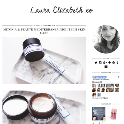Laura Elizabeth review of Beaute Mediterranea